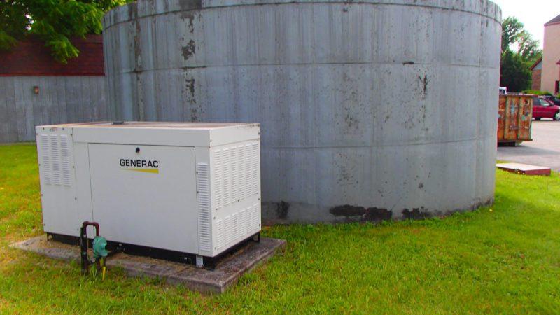 Eisenhower Inn Water System Treatment