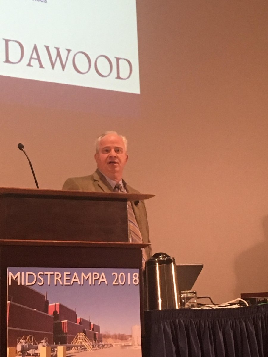 Dawood's Director of Energy Services, Tim Miller, Presents at Midstream PA 2018