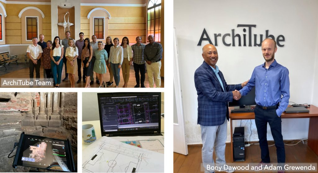 ArchiTube Team with Bony Dawood