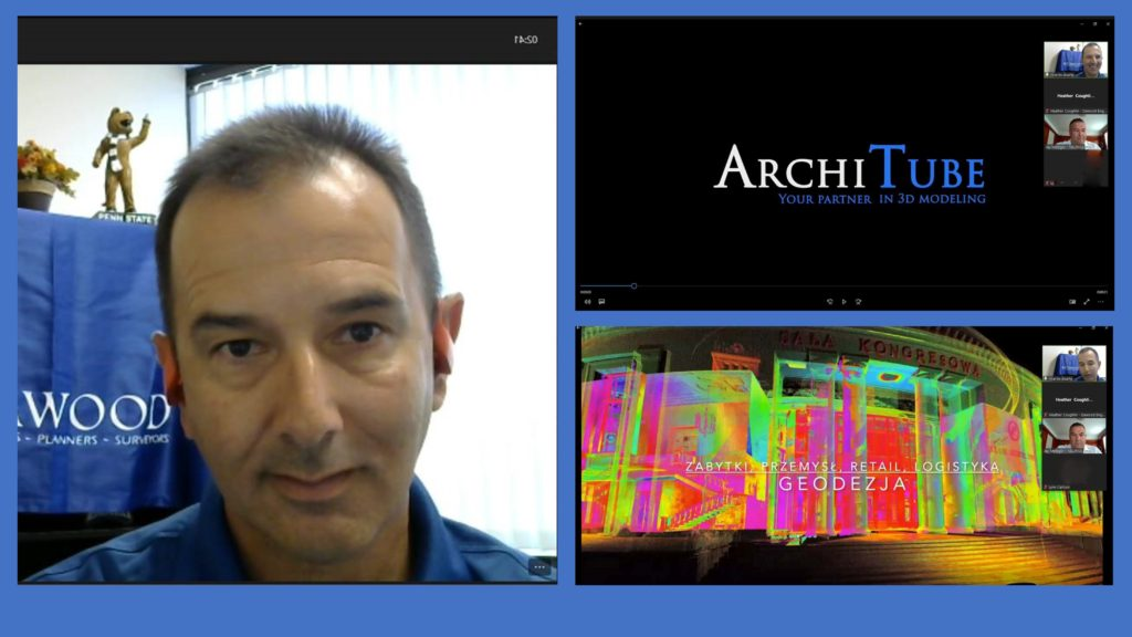 Collage of Dawood's Ricardo Duarte on NEURISA Webinar